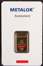 Lingotto oro Metalor 10 gr. 24 Kt.