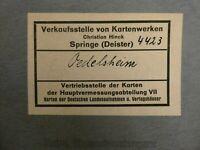 4423 Oedelsheim 1:25.000 Landkarte Topographische Karte 1937 E-632