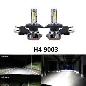 Pair H4 For Mazda BT50 BT-50 UR 2015-2018 LED Headlight Bulbs Kit High Low Beam