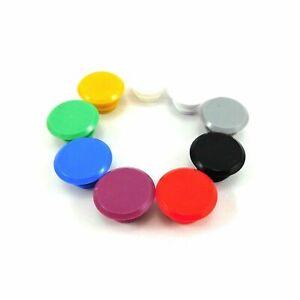 Bicycle Handlebar End Plug Caps PVC 20-24mm Assorted Colours