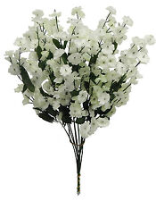 12 Baby's Breath ~ IVORY / LIGHT CREAM ~ Gypsophila Silk Wedding Flowers Bouquet