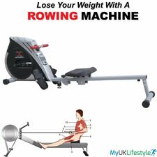 HTH Rowing Machine Body Tonner Cardio Workout Weight Loss Fitness Home Rower