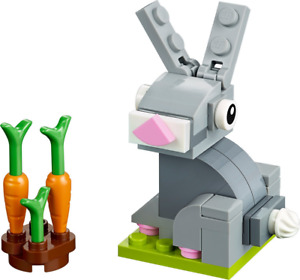 LEGO - Easter Bunny - Polybag 40398 - New & Sealed  [Monthly Build]
