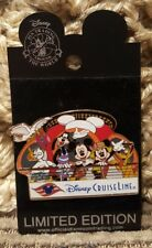 Disney Pin  DCL Annual Passholders - Don 'Ducky' Williams Lithograph (FAB 5)