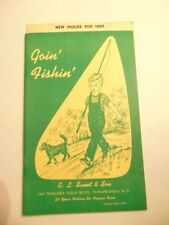"Vintage 1962 E.L. Sweet & Son ""Goin' Fishing"" catalog of sinker molds, lures,etc"