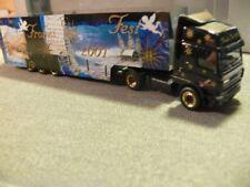1/87 Herpa DAF CF Weihnachten 2001 Koffer-Sattelzug 147194