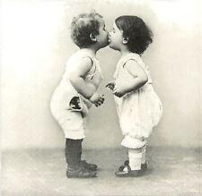 4x Paper Napkins for Decoupage Decopatch Vintage Kids Love