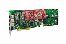 OpenVox A1200P0205 12 Port Analog PCI Base Card + 2 FXS + 5 FXO, Ethernet (RJ45)