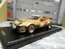 PORSCHE 924 Carrera GTS Rallye DRM Metz 1981 Röhrl Monnet DIRTY Vers Spark 1:43