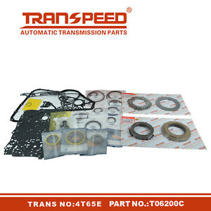 4T65E Transmission Master Rebuild kit For GM BUICK SATURN Transpeed T06200C