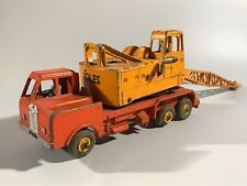 JOUET ANCIEN DINKY TOYS MINIATURE 20 TONE LORRY MOUNTED CRANE GRUE N° 972