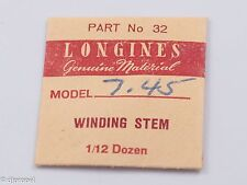 Longines Genuine Material Stem Part 32 for Longines Cal. 7.45