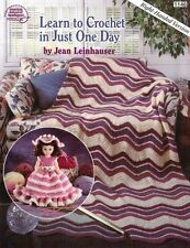 ASN Learn to Crochet in Just 1 Day Right-Handed Version 1146 Includes 7 Projects