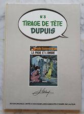 YOKO TSUNO EO Tirage Tête Dupuis signé Leloup LA PROIE ET L OMBRE Hors Commerce