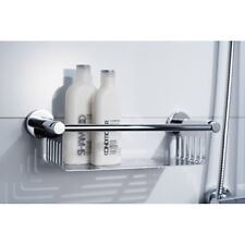 Haceka Kosmos Brass Polished Chrome Modern Bathroom Wall Accessories Rust Free