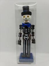 Fall Halloween Nutcracker Type Skeleton Gentleman Holiday Decor