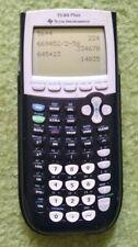 Texas Instruments TI-84 Plus Graphics Calculator Black USED