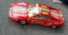 Burago Ferrari GTO 1:24 Modell 1984 rot Agip Italia Made in Italy guter Zustand
