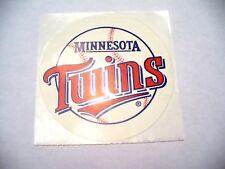 MLB - Minnesota Twins Sticker - VINTAGE - NEW