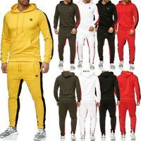 RedBridge Herren Regular Fit Trainingsanzug Fitness Pullover Jogging Hosen
