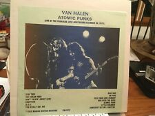 VAN  HALEN LP ATOMIC PUNKS LIVE PASADENA 1977 NM