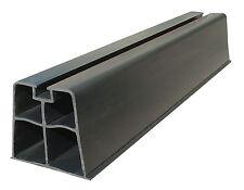 plarock Supporto stand SB-500 PVC, Nero, 500 mm, 140 kg Pro Paio resistente