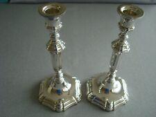 "TIFFANY sterling silver ~ CANDLESTICKS CANDLE HOLDERS 8 3/4"" ~ SUPERB & ELEGANT!"