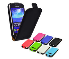 Case Samsung Galaxy Ace 3 Leather Imitation Magnetic Smart FlipCase Cover Bag