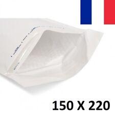 20X Enveloppe Bulles Matelassées Blanches 150x220mm 15x22cm C/3 A5 CD Bulle