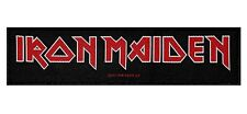 "Ss ""Iron Maiden"" Band Name Logo British Heavy Metal Music Sew On Applique Patch"