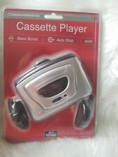 New Sealed Durabrand Casette Player With Deluxe Stereo Headphones + Bass Boost