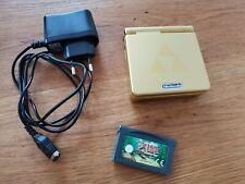 Nintendo Game Boy Advance Gold Zelda limited Edition