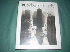 Rudy Burckhardt/ Phillip Lopate/ Essay by Vincent Katz, 2004 1st ed, PHOTOGRAPHY