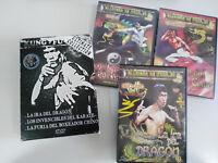 BRUCE LEE COLECCION 3 X DVD + EXTRAS BOX SET EN CAJA ESPAÑOL