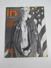 In Magazine March April 1977-French Gay Interest; Nudes-David Bowie; Film VF/NM