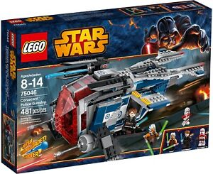New Sealed Lego Star Wars 75046 Coruscant Police Gunship Rare Discontinued Set