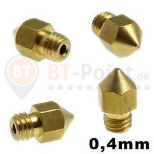 Ugello per soffiaggio 0.4mm Nozzle 1.75mm filamento Reprap CNC stampante 3d Makerbot mk8