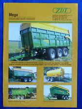 ZDT Mega 25 - Prospekt Brochure Tschechien tschechisch (0214