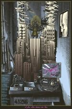 Welcome to Brazil Terry Gilliam Screen print by Ammo Signed 17 of 50