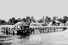 Queensland BRIBIE ISLAND 1929 Modern Digital Photo Postcard