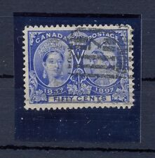 Canada, Used blue 50 cents stamp Nr: 48  after Ivert !!!