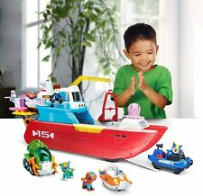 Paw Patrol Sea Patroller with figures and accessories, lights and sounds