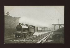 Herts Hertfordshire BUSHEY railway L&NWR Flying Scotsman taking water PPC