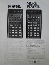 1/1974 PUB HP HEWLETT PACKARD HP-45 HP-35 SCIENTIFIC CALCULATOR CALCULATRICE AD