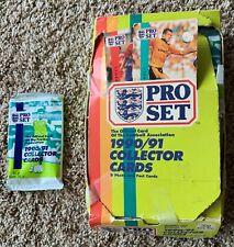 Pro Set 1990/1991 English Football Association Football Soccer Card  Box - New!!