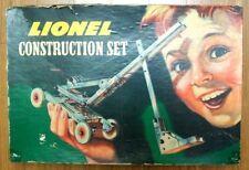 VINTAGE 1947 LIONEL STEEL CONSTRUCTION SETS No. 222