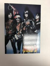 KISS Promo Card (1997) Cornerstone P9 Spirit of '76 MINT Condition !