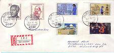 BRD Sammler Einschreiben Brief / Tagesstempel : 2081 Alveslohe