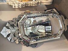 Murano Venetian Statement Decorative Rectangular Mirror