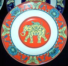 Piatti da cucina rosso in porcellana